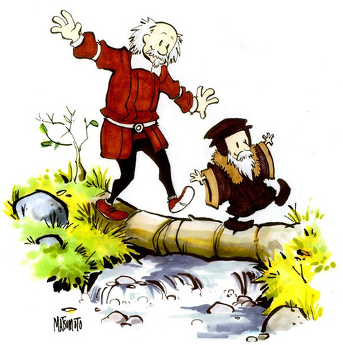 Calvin and Hobbes version of Calvin and Hobbes - Click To View Image