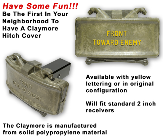 Claymore Trailer Hitch Cover - Click To View Image