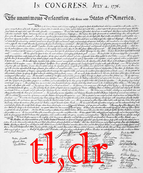 declaration tldr - Click To View Image