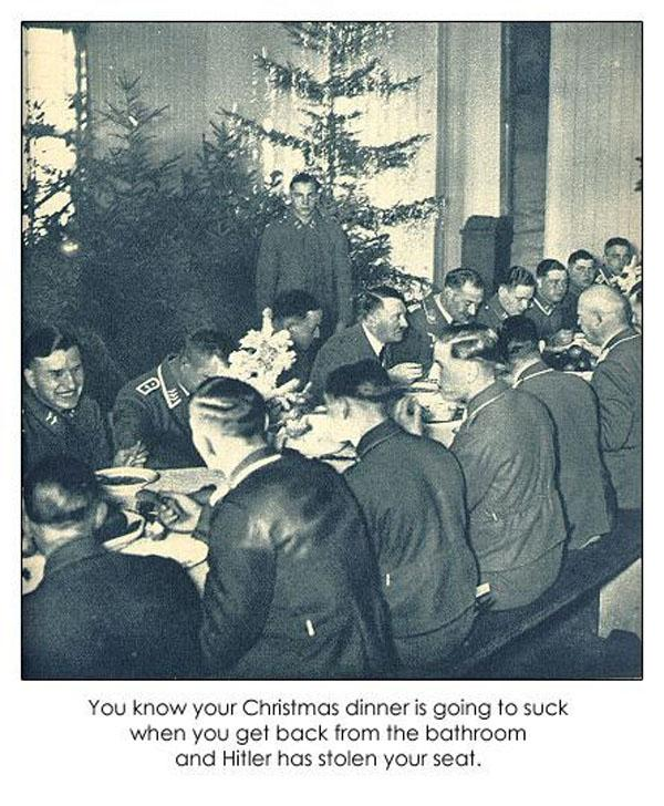 hitler ruined dinner - Click To View Image