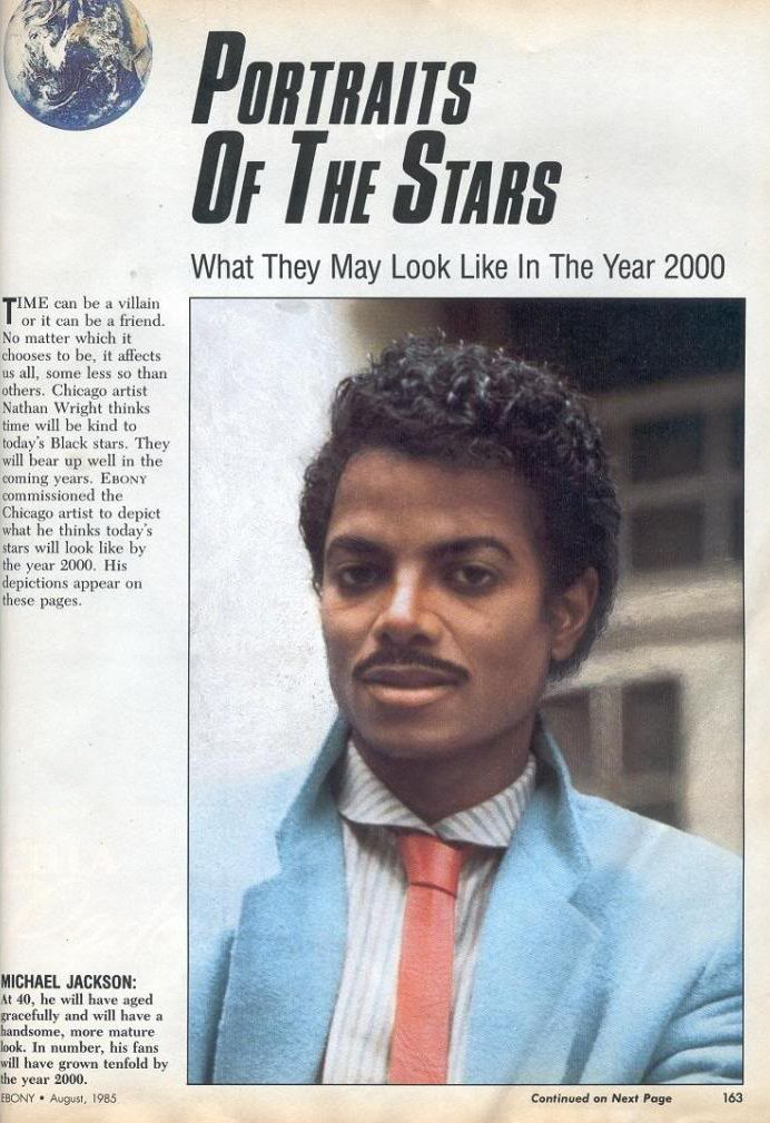 Michael Jackson In The Year 2000 - Click To View Image