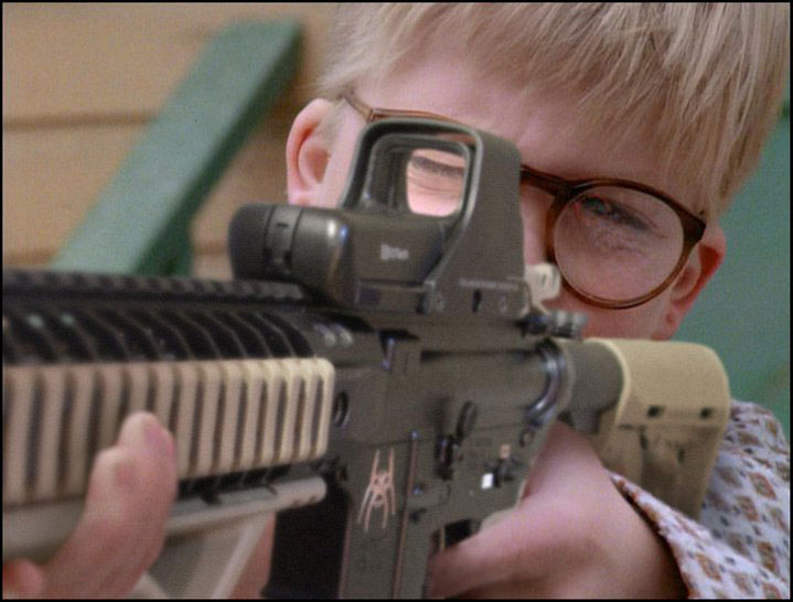 Ralphie Steps it up. - Click To View Image