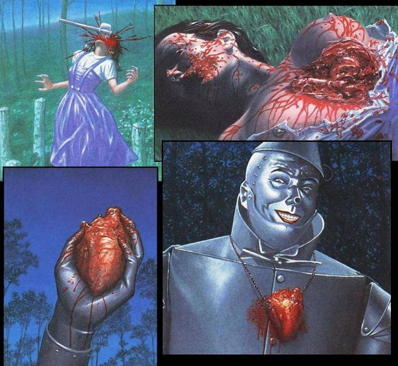 The Tin Man's Real Heart - Click To View Image
