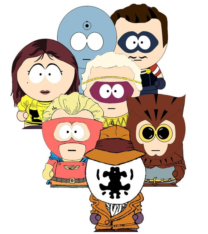 Southpark Watchmen - Click To View Image