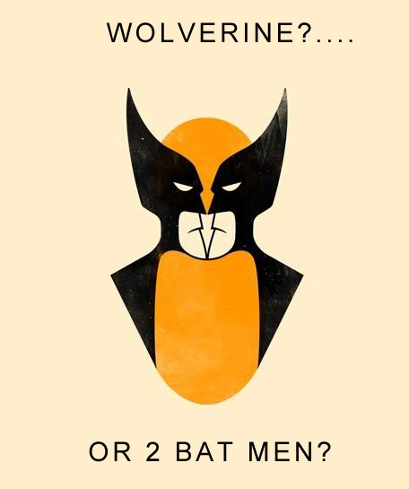Wolverine or 2 Batman? - Click To View Image
