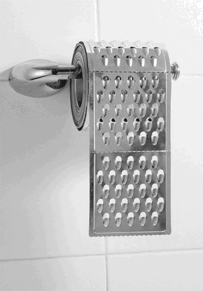 Most Painful Toilet Paper Ever - Click To View Image