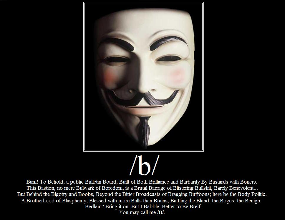 B for Vendetta - Click To View Image