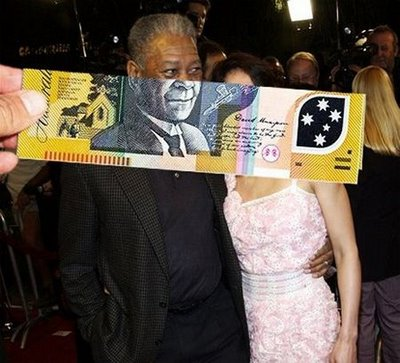 Morgan Freeman Money Mash Up - Click To View Image