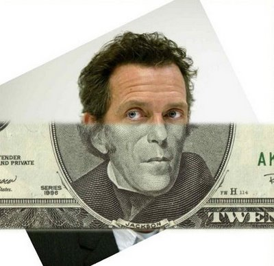 Money Mash Up - Hugh Laurie & Andrew Jackson - Click To View Image