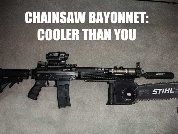 chainsaw bayonet - Click To View Image