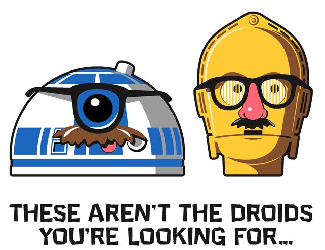 These aren't the droids you're looking for - Click To View Image