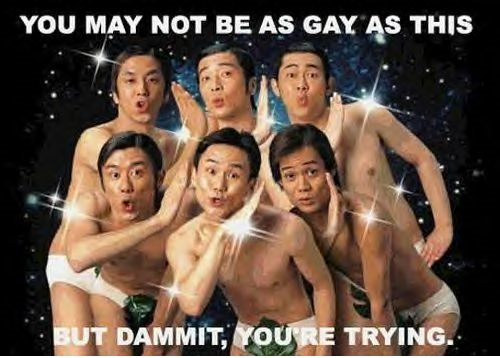 Trying To Be Gay! - Click To View Image