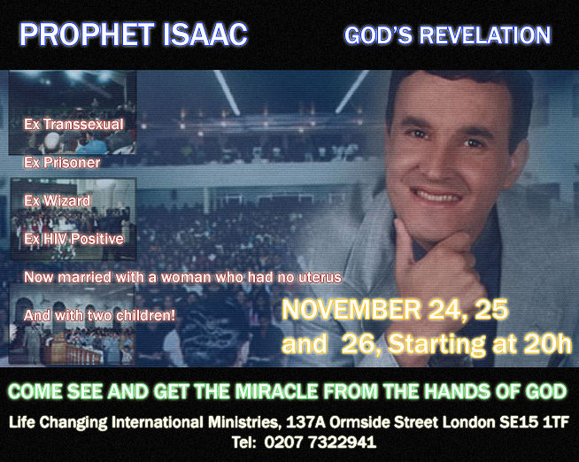 Prophet Isaac! - Click To View Image