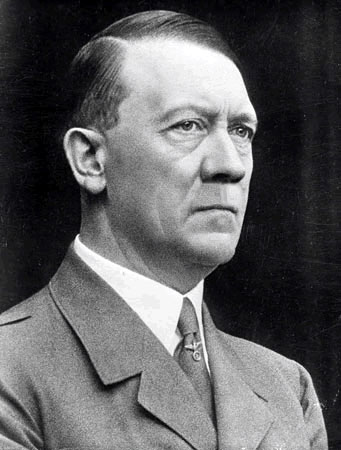 Hitler Without A Mustache - Click To View Image