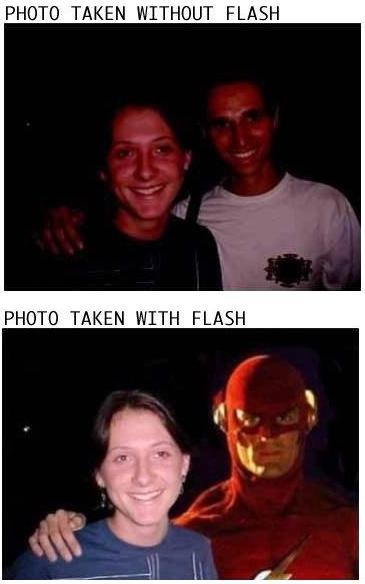 photo with flash - Click To View Image