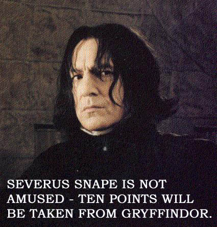 snape-not-amused - Click To View Image