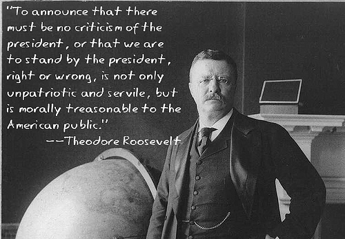 Teddy Roosevelt Is The Man - Click To View Image
