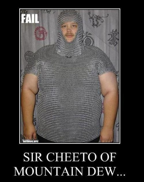 Sir Cheetoh Of Mt Dew - Click To View Image