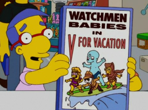 Simpsons Watchment Babies