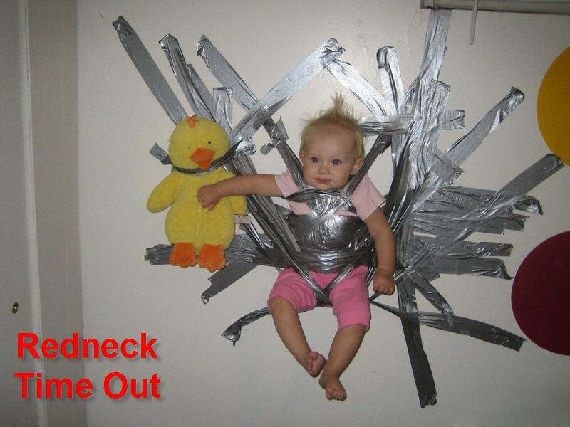 Redneck Time Out! - Click To View Image